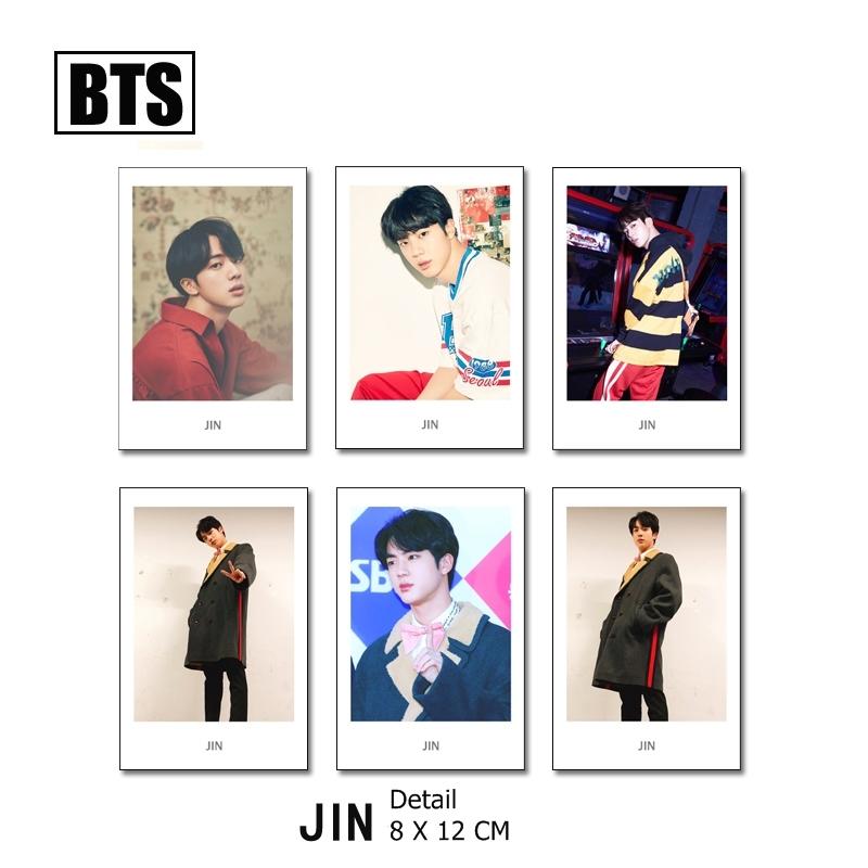 Polaroid Set BTS - JIN (6pc)