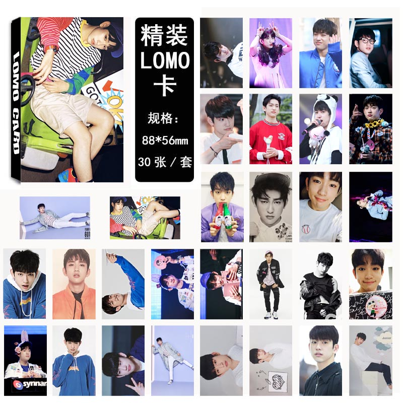 Lomo card set GOT7 - JUNIOR (30pc)
