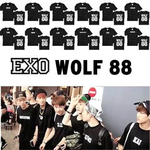 เสื้อ wolf 88 - name [ระบุสมาชิก/ไซ