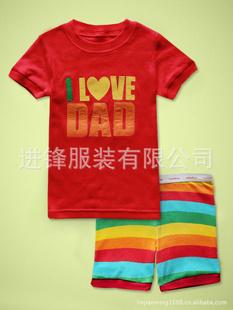 ชุดนอน Baby Gap แขนสั้น ลาย I love Dad