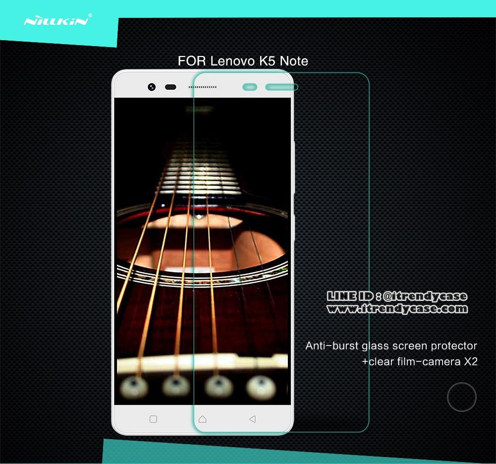 Lenovo K5 Note - กระจกนิรภัย Nillkin Amazing H แท้