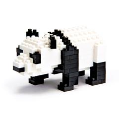 พร้อมส่ง Nanoblock ตัวต่อขนาดจิ๋ว รูปหมีแพนด้า