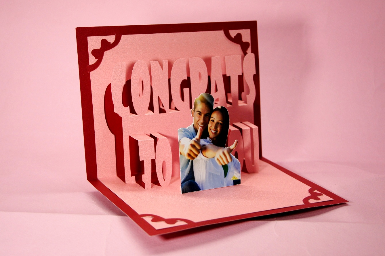 การ์ด Congrats To you ใส่รูปได้