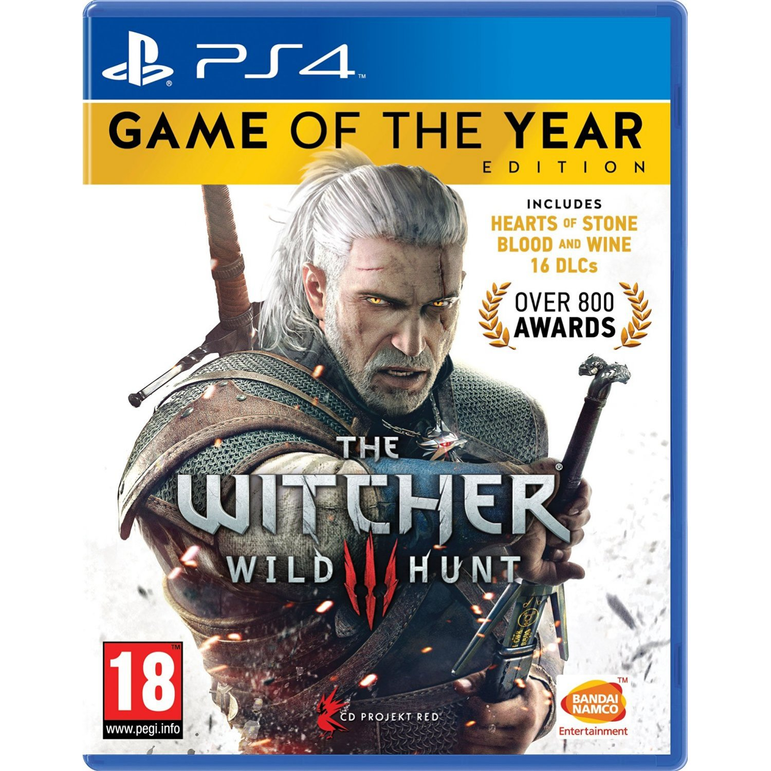 PS4 : The Witcher 3 Wild Hunt Game of the Year Edition (R3)