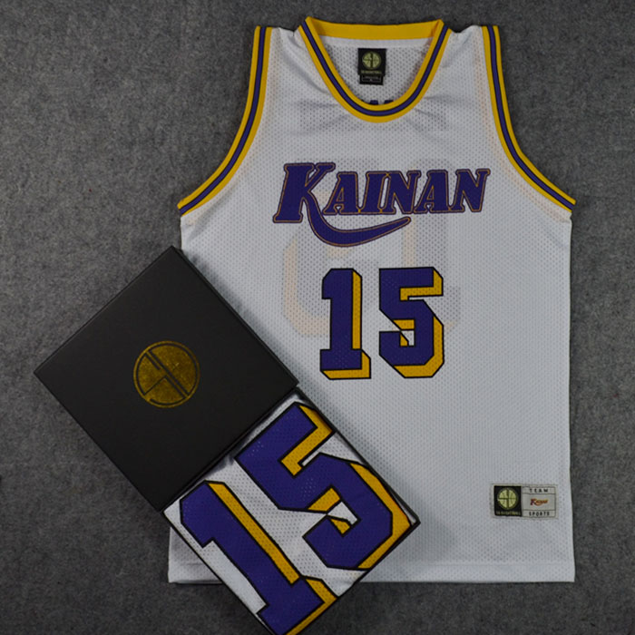 *Pre Order*SD slam dunk No.15 Kainan Miyamasu เสื้อกีฬา Basketball size M-2XL
