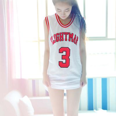 *Pre Order*เสื้อกล้าม Basketball ผ้าไนล่อนหลวมใส่สบาย,ไม่ร้อน size S-XL