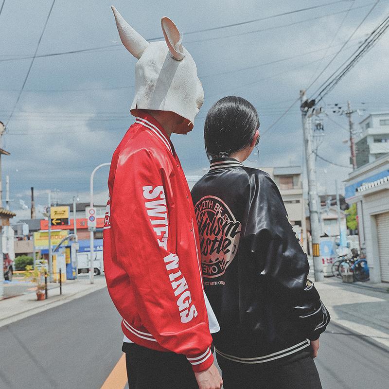 *Pre Order*LMTNZD baseball Jacket แฟชั่นญี่ปุ่น size M,L,XL,2XL