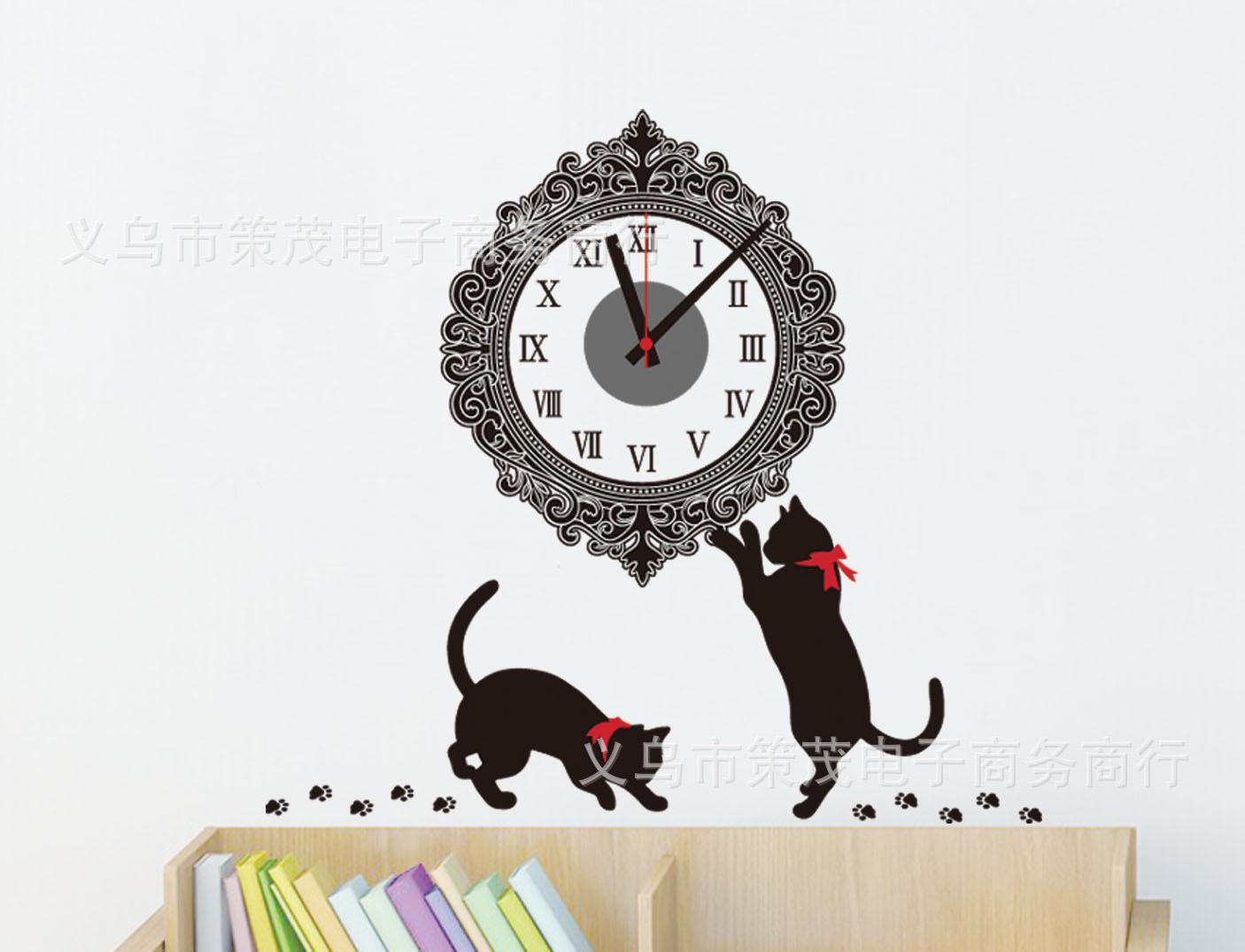 นาฬิกาพร้อมสติกเกอร์ CD880