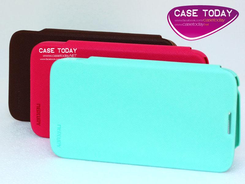 เคส Note 2 ซองหนัง Flip Case จาก Mercury