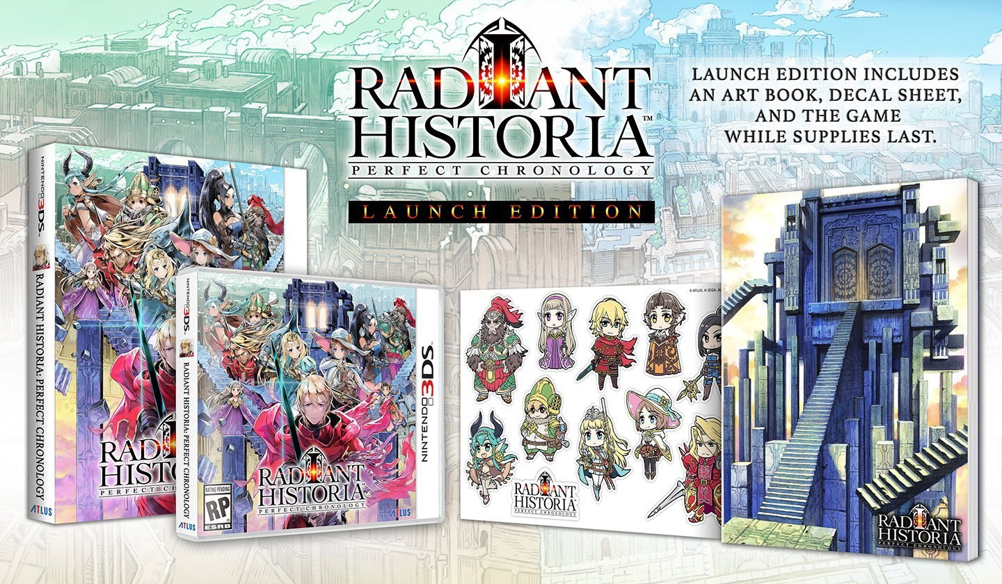 3DS: RADIANT HISTORIA PERFECT CHRONOLOGY Launch Edition (US)
