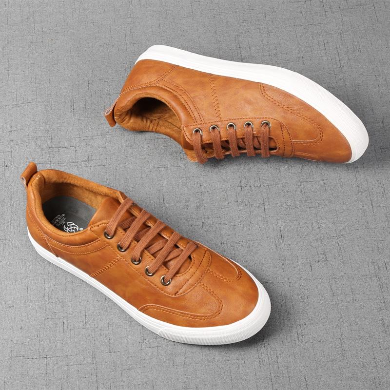 *Pre Order*รองเท้าหนังแฟชั่นสำหรับผู้ชายสไตล์เกาหลี/ size 39-44