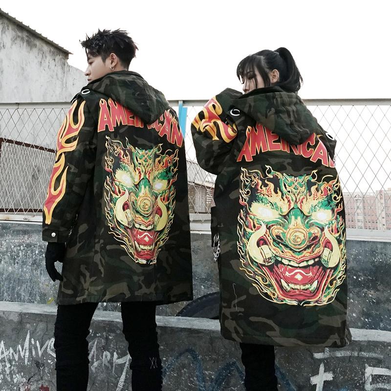 *Pre Order* Jacket hooded เสื้อตัวยาวหนา แฟชั่นญี่ปุ่นชาย/หญิง size M-L-XL