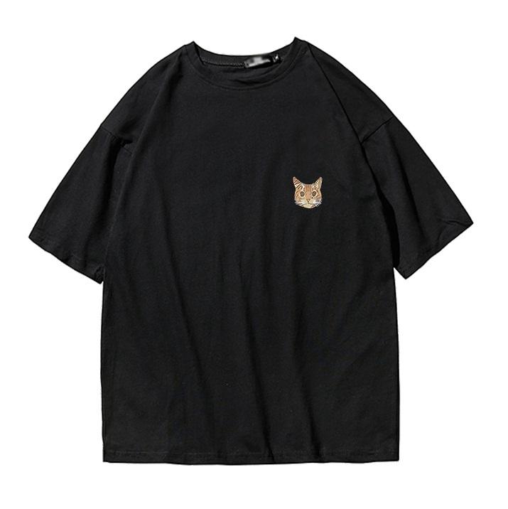 *Pre Order*เสื้อยืดแขนสั้นผ้าฝ้าย90% พิมพ์ลาย/เกาหลี size M-3XL