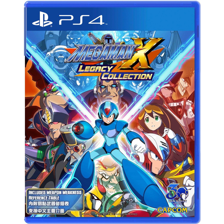 PS4: MEGA MAN X LEGACY COLLECTION (R3)
