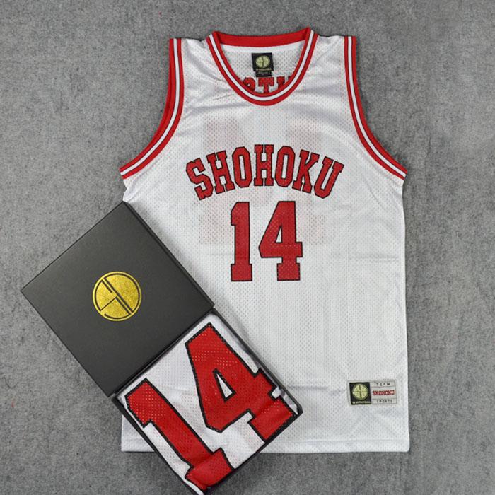 *Pre Order*SD slam dunk No.14 Shohoku Mitsui เสื้อกีฬา Basketball size M-2XL