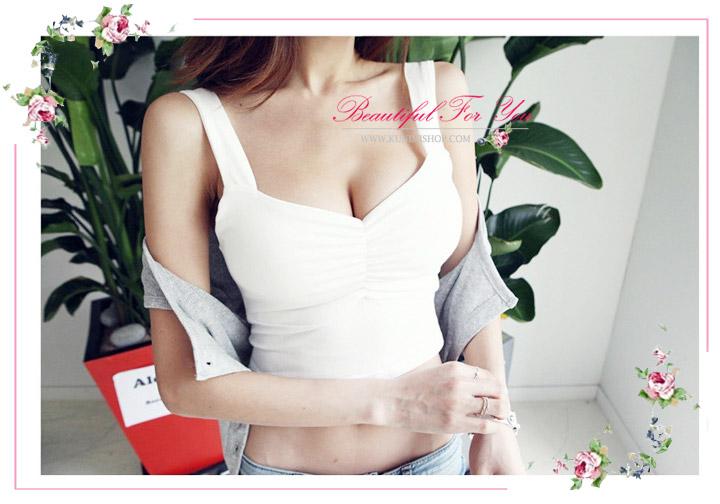 เสื้อยืด เสื้อซับใน ครึ่งตัว สายเดี่ยวใหญ ผ้ายืดใส่สบายคะ ขนาด : FREE SISE ( รอบอกไม่เกิน 35 นิ้วคะ) มี 2 สี : สีขาว สีดำ