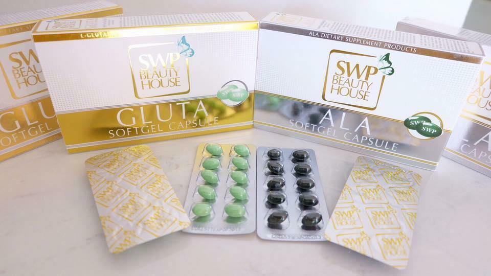 Gluta Softgel Capsule & ALA Softgel Capsule
