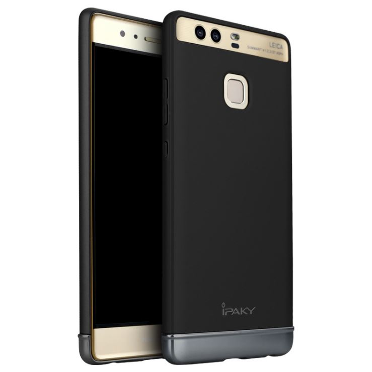 IPAKY Case Huawei P9 (Black)