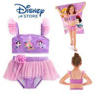 a0b80ec910 ฮ Disney Princess Deluxe Swimsuit for Girls - 2-Piece from Disney USA  ของแท้100% นำเข้า จากอเมริกา (Size 7/8)