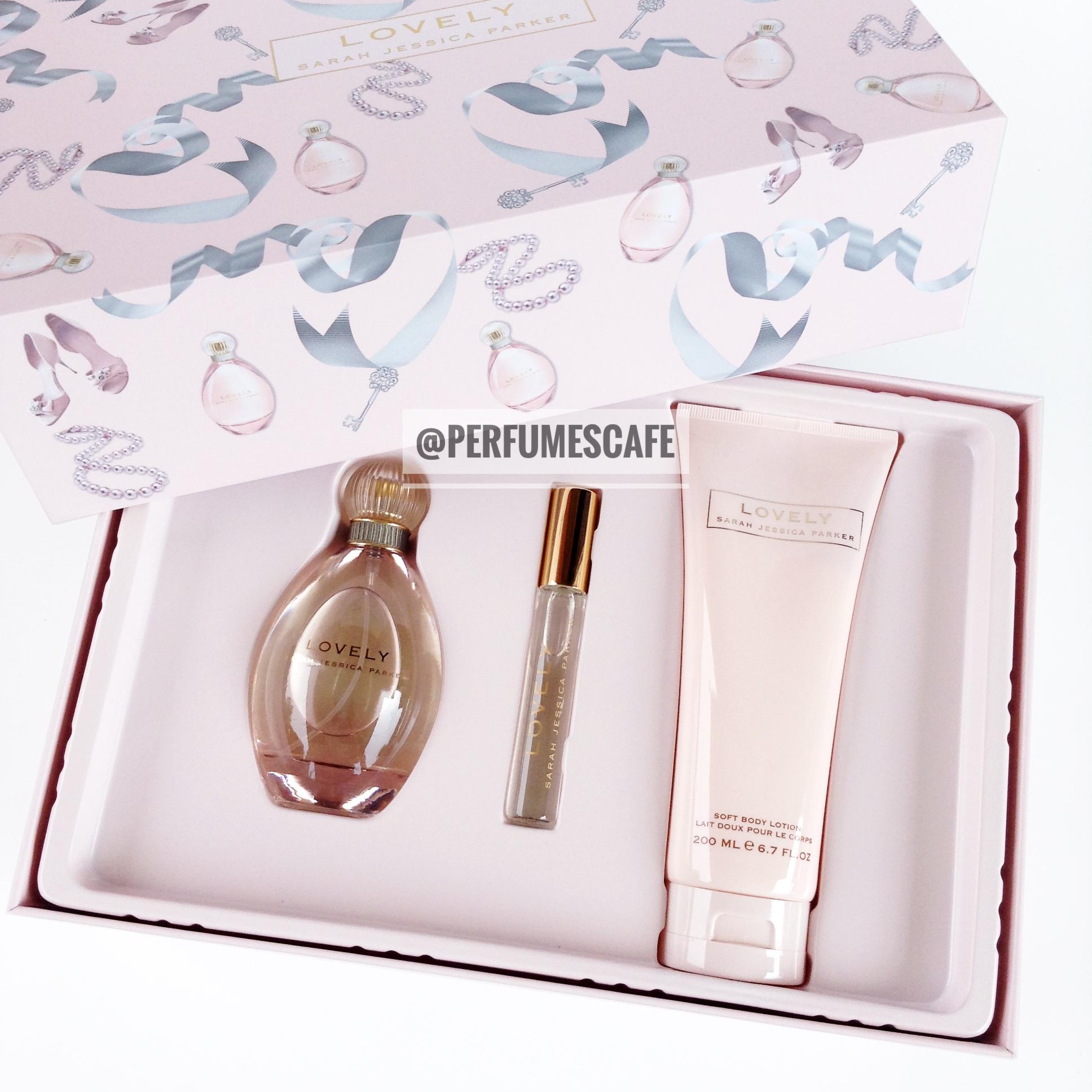 Sarah Jessica Parker Lovely Gift Set Perfume 100ml + Body Lotion 200ml + Perfume 10ml