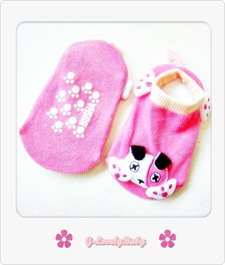 BUSHA ถุงเท้าเด็ก ถุงเท้าเด็กรูปสัตว์สามมิติ ถุงเท้า Hand-made ถุงเท้าทำด้วยมือ