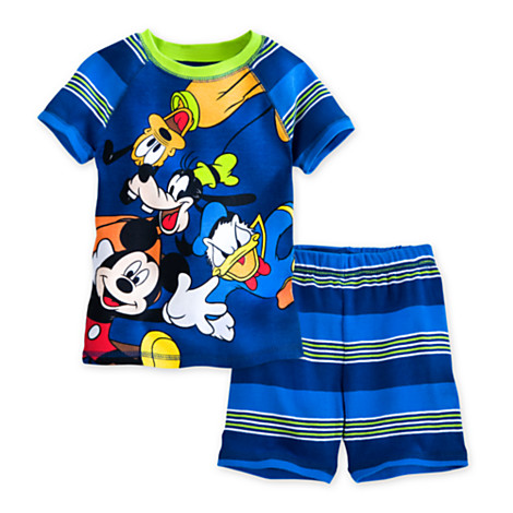 Mickey Mouse and Friends PJ Pal Shorts Set for Boys (Size2)
