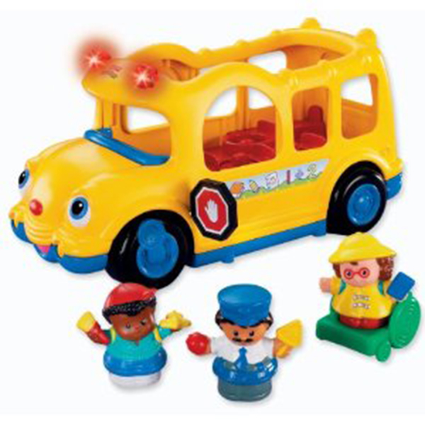 z Fisher Price Little People Lil' Movers School Bus.