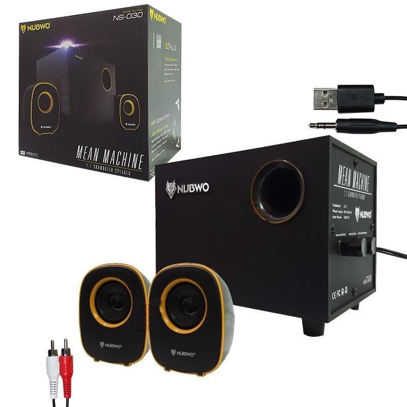 NUBWO SPEAKER 2.1ch USB 5W รุ่น NS-030