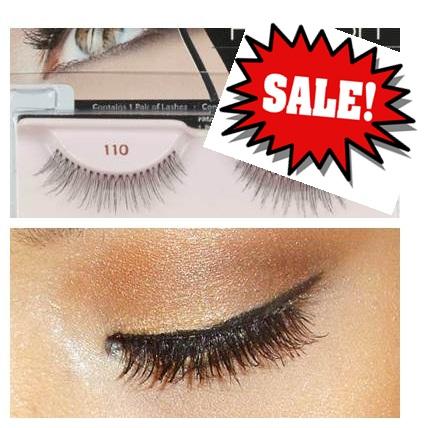 **พร้อมส่งค่ะ+ลด 70%**ขนตาปลอม Ardell Fashion Lashes Lashes, 110 Black