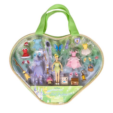 z Tinker Bell Figurine Fashion Play Set