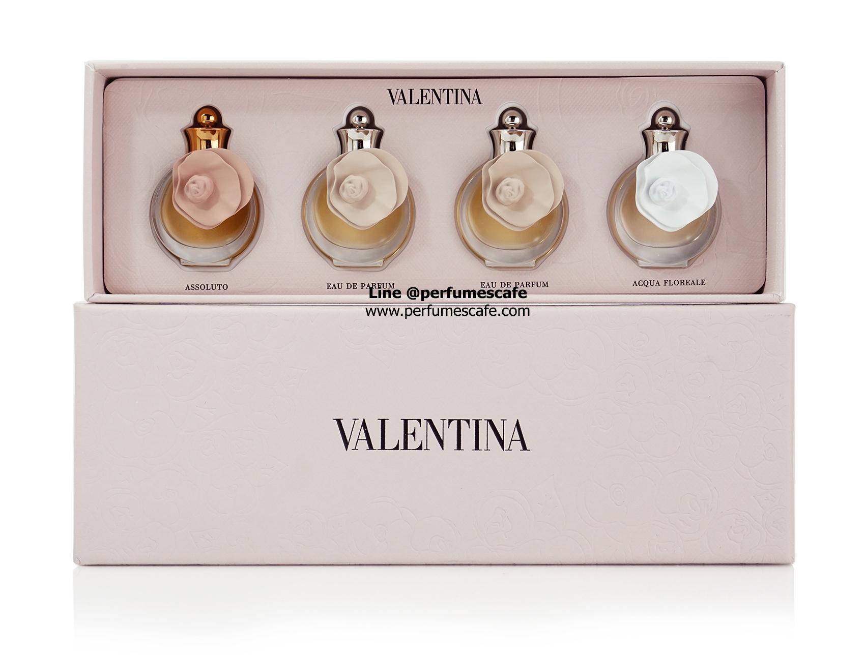 Valentina Valentino Parfum Miniature Gift Set 4ml x 4pcs.
