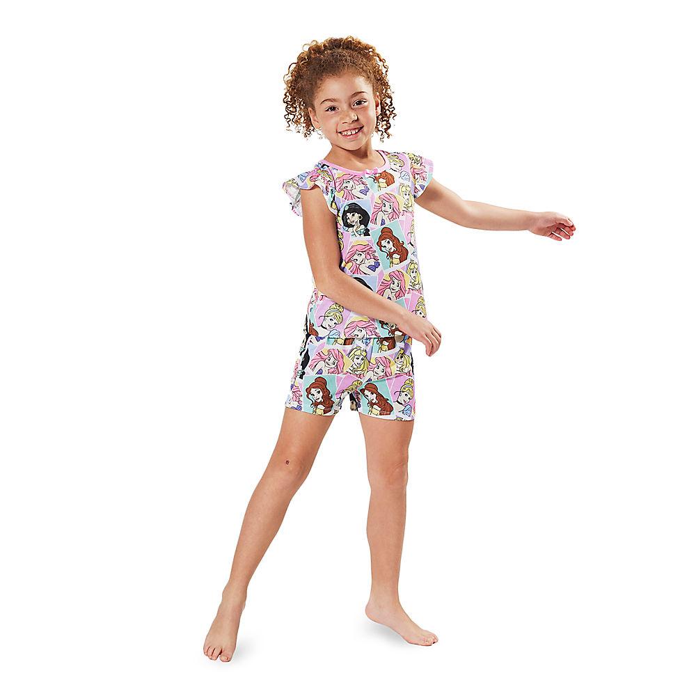 * Disney Princess Short Sleep Set for Girls from Disney USA ของแท้100% นำเข้า จากอเมริกา