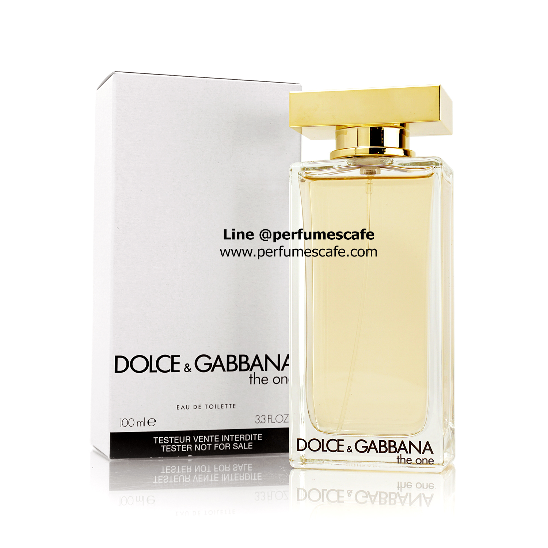 น้ำหอม Dolce & Gabbana The One EDT for women ขนาด 100ml กล่องเทสเตอร์