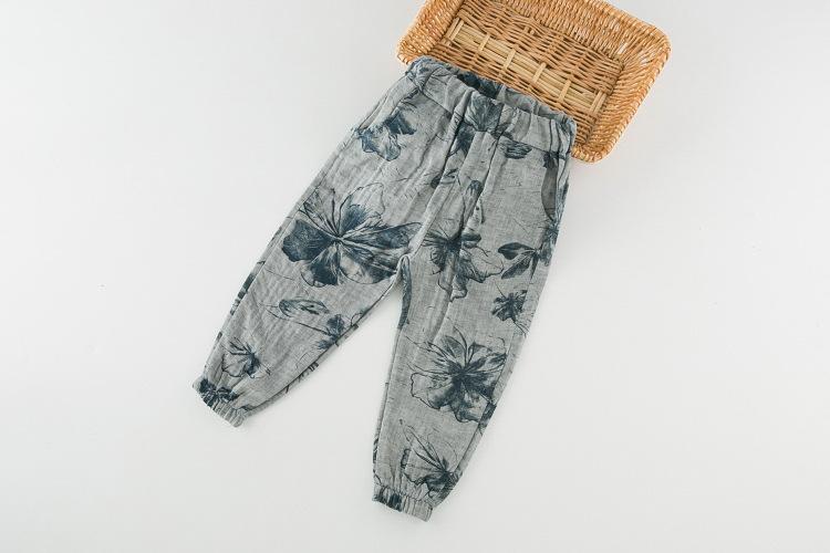 กางเกงเด็กลำลอง กางเกงขายาวเด็กจั๊มปลายขา