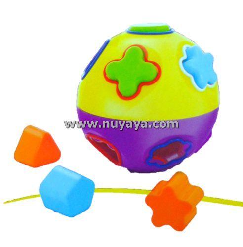 Nestlé ลูกบอลเสริมพัฒนาการ (บล็อคหยอด)