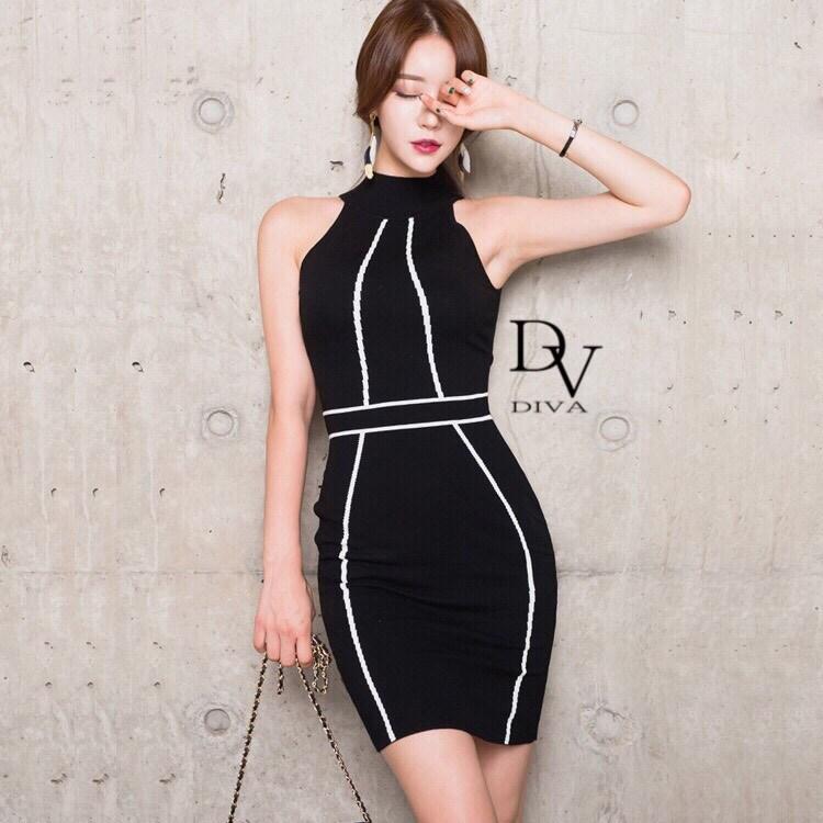เดรสไหมพรม ผ้าดี ใส่แล้วไม่ร้อน ทรงสวย ช่วยสาว ๆ ในการอำพรางหุ่นได้อีกด้วย Diva by Korea