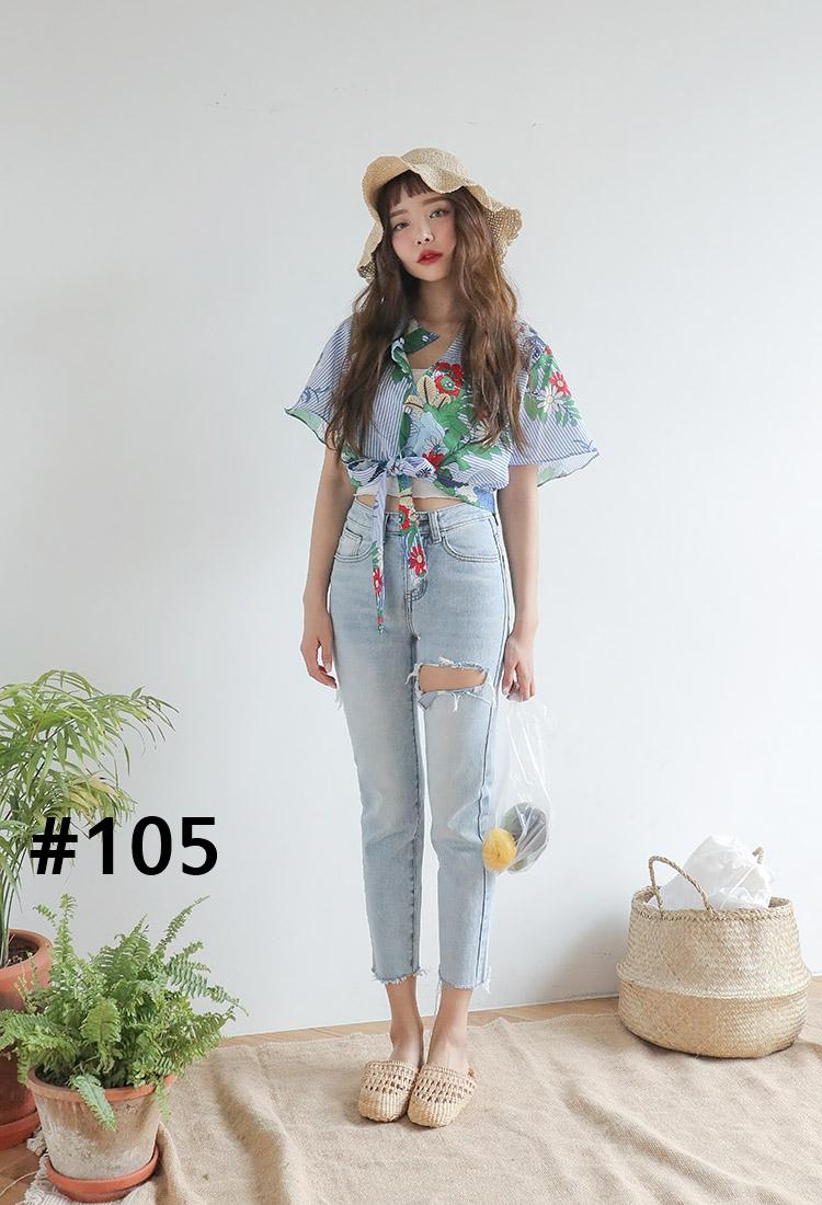 แพทเทิร์น เสื้อ #105