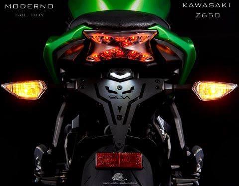 ท้ายสั้น MODERNO สำหรับ KAWASAKI Z650