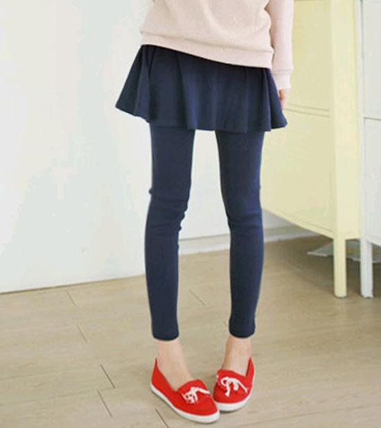 ++เสื้อผ้าไซส์ใหญ่++* Pre-Order กางเกงแฟชั่น กางกางคนอ้วน ตัดต่อช่วงบนเป็นกระโปรง