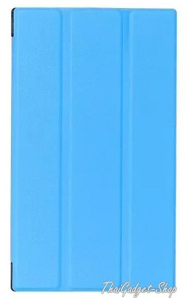 (สีฟ้า พร้อมส่ง) เคส Asus ZenPad C 7.0 Z170CG Ultra-thin Slim Smart 3-folding Stand Cover ตรงรุ่น