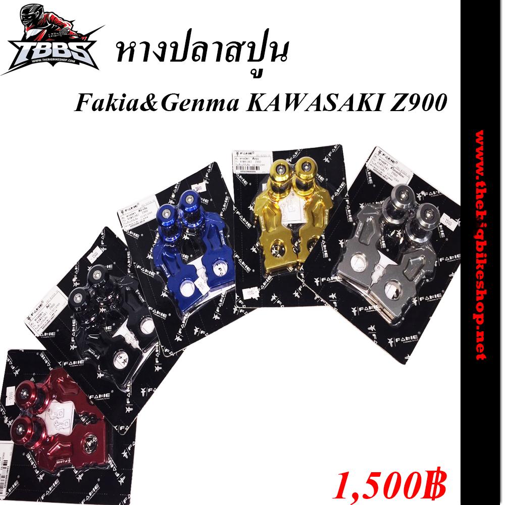หางปลาสปูนFakia&Genma KAWASAKI Z900