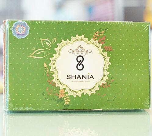 Shania ชาเนีย กล่องเขียว ดีท๊อกซ์ ขับสารพิษ