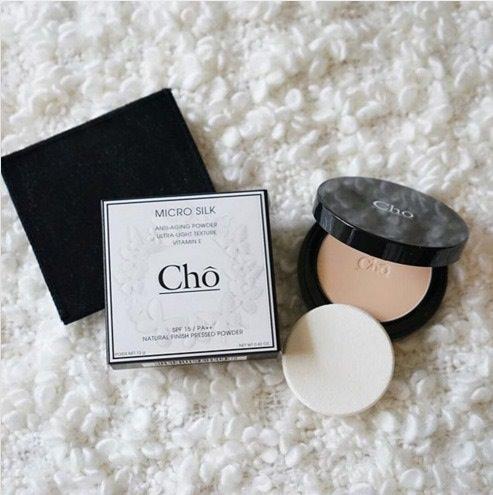 Cho Micro Silk โช แป้งผสมรองพื้น เนื้อละเอียดบางเบา ดุจใยไหม