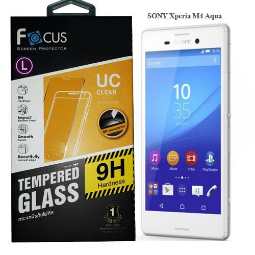 โฟกัส ฟิล์มกระจก Sony Xperia M4 Aqua