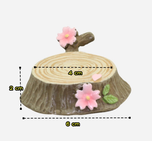 (ตอไม้) Sakura tree stumps
