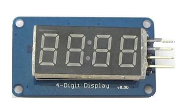 Seven Segment 4-Digit Clock Display 0.36 Inches (Catalex)
