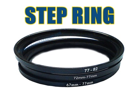 Step Ring 58mm - 77mm