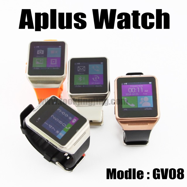 นาฬิกาโทรศัพท์ Smart Watch GV08 Phone watch ลดเหลือ 500 บาท ปกติ 4,020 บาท