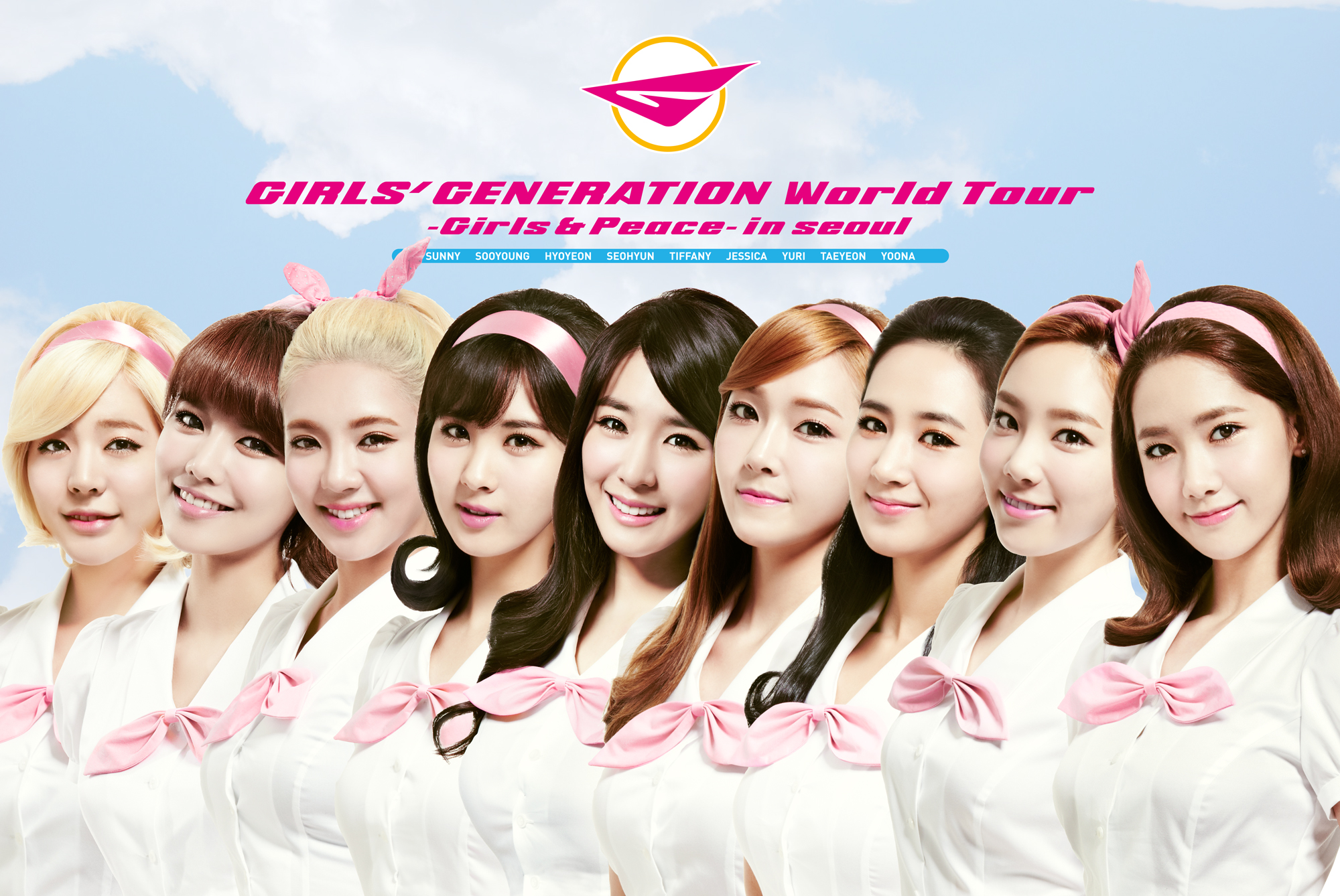 Girls` Generation - WORLD TOUR [GIRLS & PEACE IN SEOUL] DVD