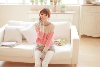 [Pre Order] เสื้อแขนยาวสไตล์เกาหลี สวยหวาน
